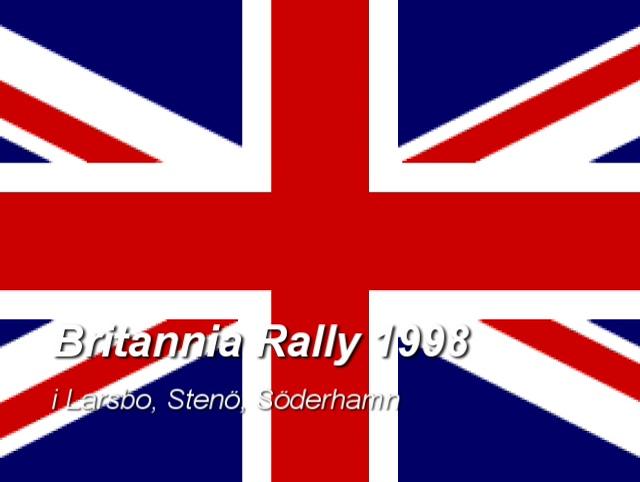 Britannia Rally 1998